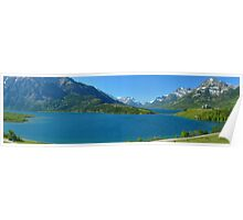 Waterton...a Gigapan Panorama Poster