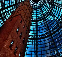 Inside Looking Out  - Coops Shot Tower - Angle #2, Melbourne - The HDR Experience by Philip Johnson