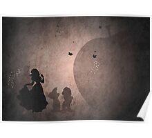 Snow White inspired design. Poster