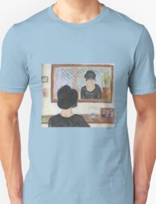 Sorrowful Reflections in the Mirror Unisex T-Shirt