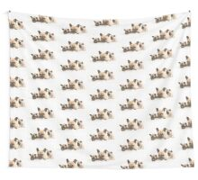 Frenchie Family Wall Tapestry