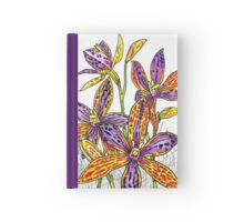Australian Flower Series - Queen of Sheba Colour Hardcover Journal