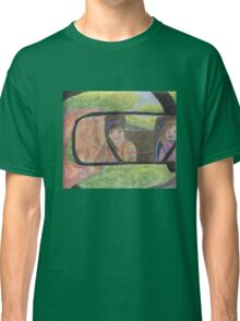 Reflections in the Rear View Mirror Classic T-Shirt