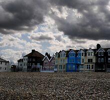 Moody skies over Aldeburgh  by sparkiesworld