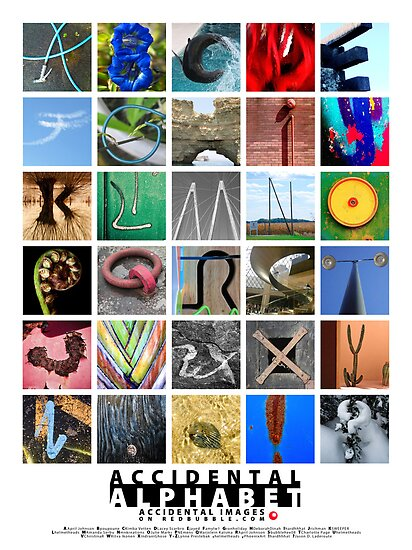 ACCIDENTAL ALPHABET #1 by Susana Weber