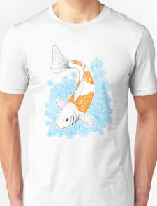 Fish carp Koi - Orange Unisex T-Shirt