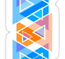 Abstract Triangle Pattern Sticker
