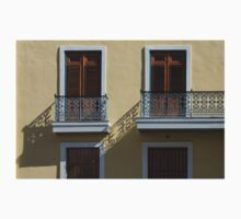 Sophisticated Wrought Iron Shadows - the Beautiful Colonial Architecture of Old San Juan T-Shirt