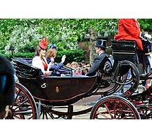 Princess Eugene... Trooping of the Colour, London, UK. Photographic Print