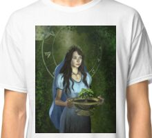 Virgo zodiac fantasy circle Classic T-Shirt