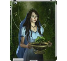 Virgo zodiac fantasy circle iPad Case/Skin