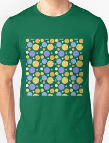 Vintage purple orange polka dots pattern T-Shirt