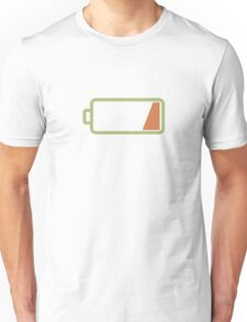 Silicon Valley - Low Battery Unisex T-Shirt