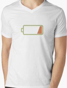 Silicon Valley - Low Battery Mens V-Neck T-Shirt