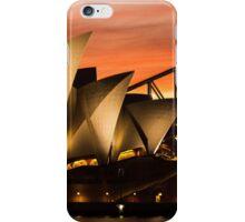 Sydney Icons Sunset iPhone Case/Skin