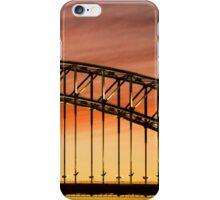 Harbour Bridge at Sunset iPhone Case/Skin