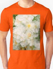 Waterfall of White Roses Unisex T-Shirt