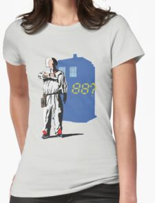 tardis to the futur  Womens Fitted T-Shirt