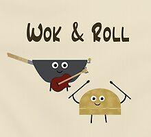 Wok & Roll by sloganart