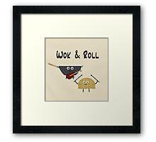 Wok & Roll Framed Print