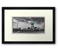 Route 66 Blarney Inn Framed Print