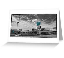 Route 66 Blarney Inn Greeting Card