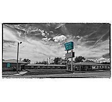 Route 66 Blarney Inn Photographic Print