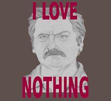 Ron Swanson Pencil Portrait T-Shirt
