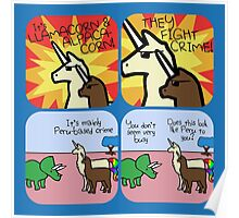 Llamacorn and Alpacacorn: They Fight Crime (Horned Warrior Friends) Poster