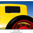 1931 Ford - Titled Print by Mark Podger