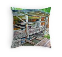 Old Mill Generator Throw Pillow
