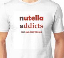 Nuttella Addicts Unanonymous Unisex T-Shirt
