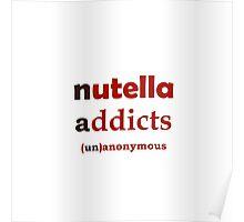 Nuttella Addicts Unanonymous Poster