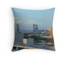 Skyscape from the 86th Floor  ^ Throw Pillow