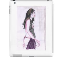 Partial Nude Woman iPad Case/Skin