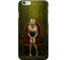 Magical red chair iPhone Case/Skin