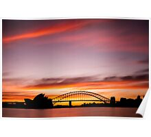 Sydney Icons Long Exposure Poster