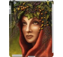 Keeper of the wood - nature goddess iPad Case/Skin