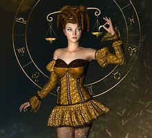 Libra fantasy zodiac sign by Britta Glodde
