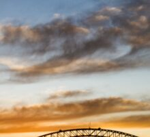 Sydney Cloudscape Sticker