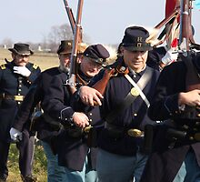 Marching down the Emmitsburg Pike by Hope Ledebur