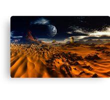 'Neath Desert Sands Canvas Print