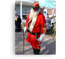 """He's the """"Southern Santa"""" HO HO HO! Canvas Print"""