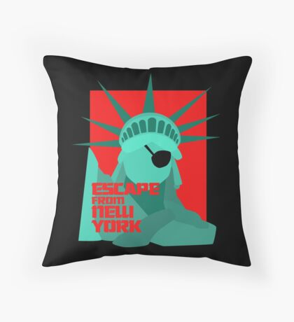 Call Me Snake II Throw Pillow