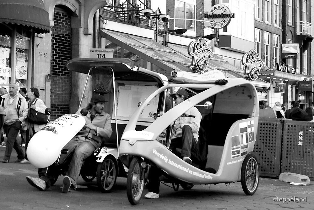 Bike taxi - the alternative city transport by steppeland