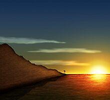 Mountain Dusk by Jace Blackwood