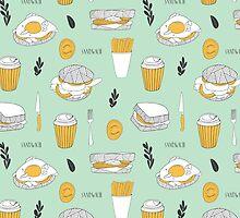 Sandwich paradise by Rin Rin