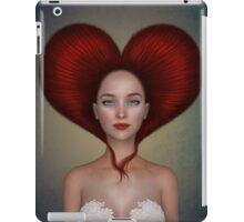 Queen of hearts portrait iPad Case/Skin