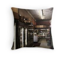Small Town Grocery Throw Pillow