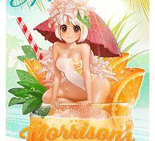 Orange Soda Pop by MortMorrison